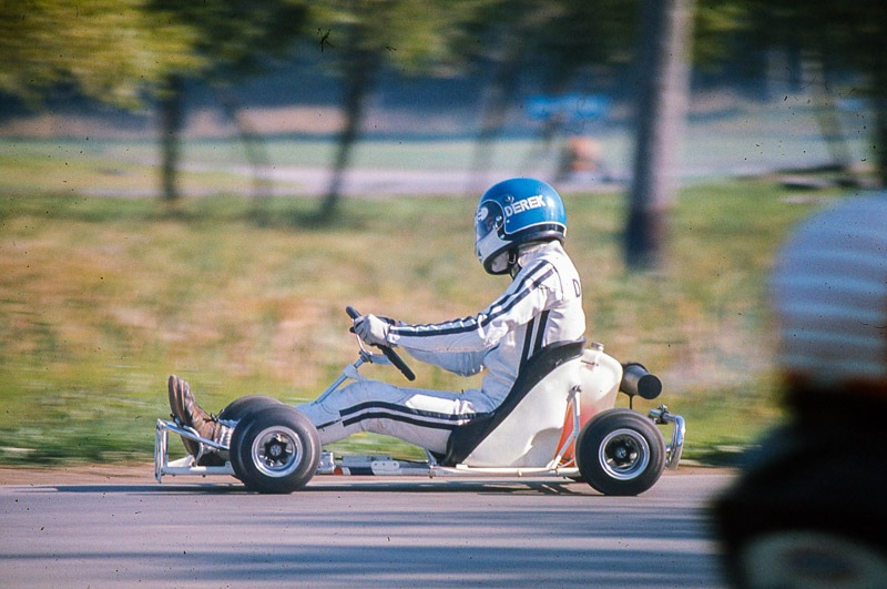 I can still hear the Jim Russell racing instructor, Jacques Couture, yelling at me to keep my head up straight in the corners... :)